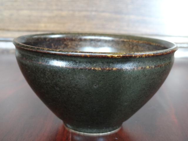 仿古亚光釉茶碗